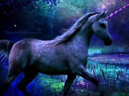 Purple Unicorn courtesy BigThumbnail