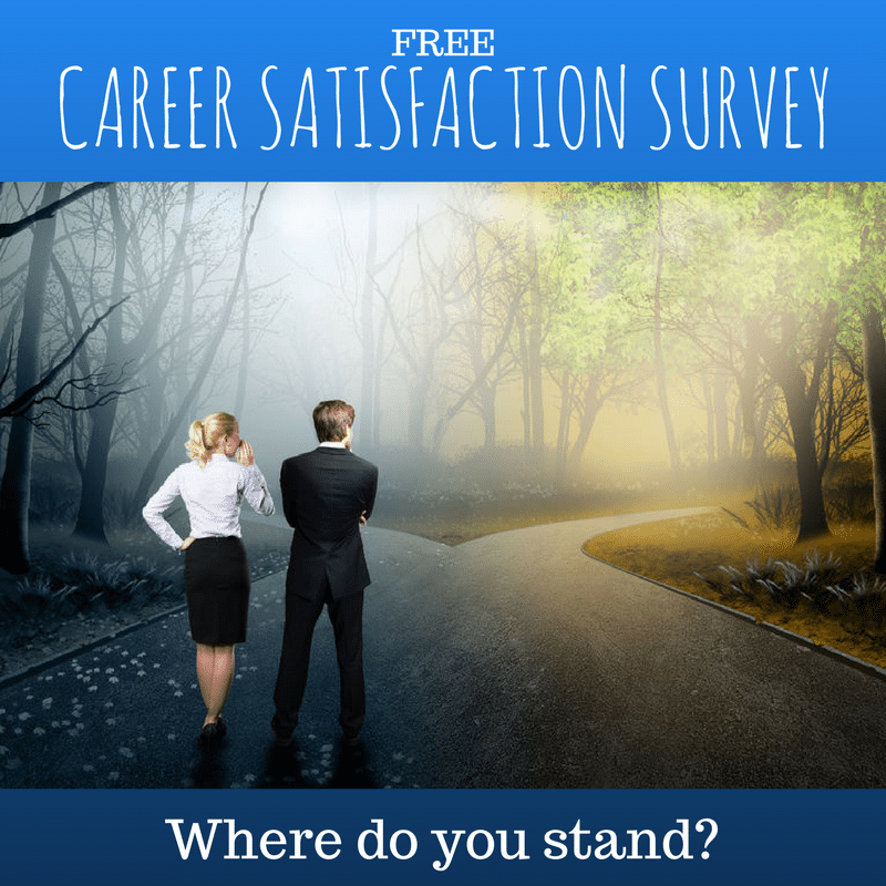 Test your career satisfaction - take this personal survey