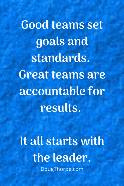 Becoming a better leader with accountability